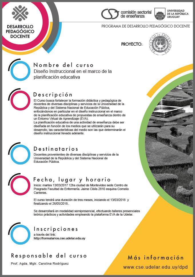 Diseño Instruccional en el marco de la planificación educativa ...