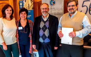 Susana Kanovich, Mercedes Collazo, Álvaro Maglia y Gabriel Errandonea