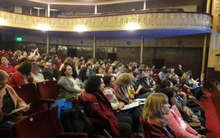 Auditorio en el teatro Florenciao Sánchez. Paysandú, Uruguay